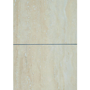 Wickes Travertine Tile Laminate Sample