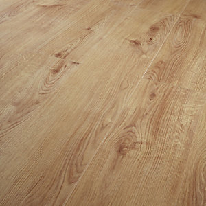 Wickes Navelli Light Oak Laminate Flooring