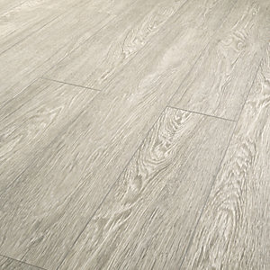 Wickes Novara Grey Laminate Flooring 10mm