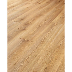 Wickes Butter Oak Laminate Flooring