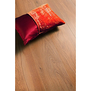 Wickes Almond Oak Laminate Flooring