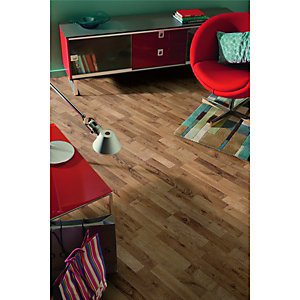 Wickes Mocha Oak Laminate Flooring