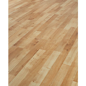 Wickes Cappuccino Oak Laminate Flooring