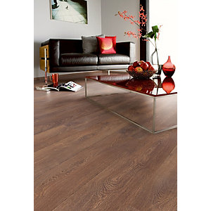 4Trade Shire Oak Laminate 1285mm x 192mm x 8mm Clic Locking 2.22m2