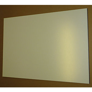 Hardboard End Panel White 711mm x 559mm