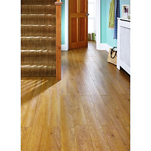 Wickes Chai Oak Laminate Flooring
