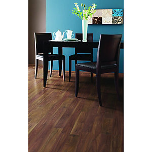 Wickes African Walnut Laminate Flooring