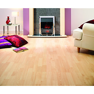 Wickes Beech Effect Laminate Flooring