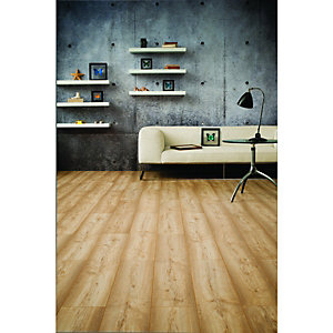 Wickes Dartmoor Oak Laminate Flooring