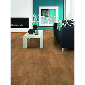 Wickes Latte Oak Laminate Flooring