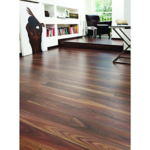 Wickes Rich Walnut Laminate Flooring