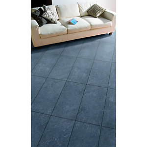 Wickes Mustang Slate Effect Laminate Flooring