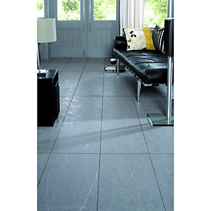 Wickes Pietra Piasentina Tile Effect Laminate Flooring