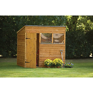 Wickes Overlap Pent Shed 7x5