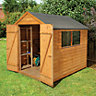 Wickes Overlap Double Door Apex Shed 8x6
