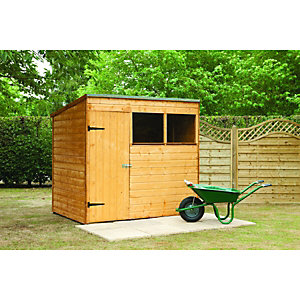 Wickes Shiplap Pent Shed 7x5