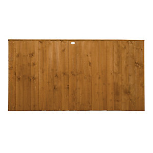 Wickes Featheredge Fence Panel Multipack 1.8mx0.9m (6'x3')