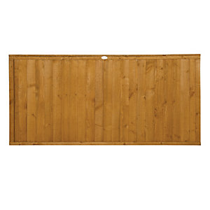 Wickes Closeboard Fence Panel Multipack 1.8mx0.9m (6'x3')