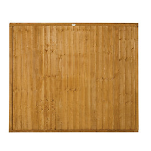 Wickes Closeboard Fence Panel 1.8mx1.5m 3 Pack