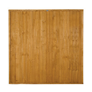 Wickes Closeboard Fence Panel Multipack 1.8mx1.8m (6'x6')