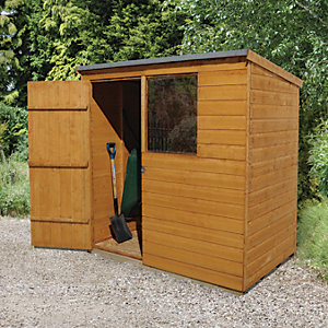 Wickes Shiplap Pent Shed 6x4