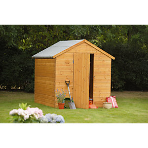 Wickes Shiplap Apex Shed 8x6