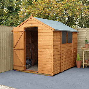 Wickes Shiplap Dip Treated Apex Shed 6x8