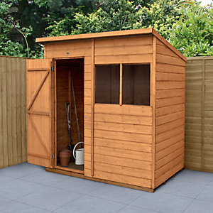 Wickes Shiplap Dip Treated Pent Shed 6x4