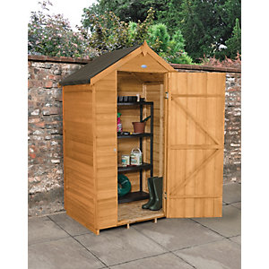 Wickes Overlap Dip Treated Apex Shed 4x3