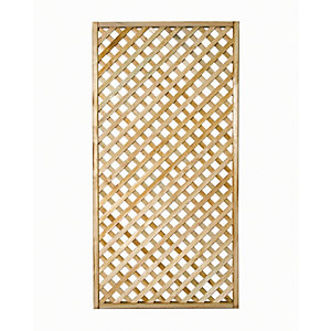 Wickes Diamond Lattice Trellis 1.8m x 900mm