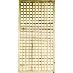 Wickes Square Lattice Trellis 1.83m x 900mm