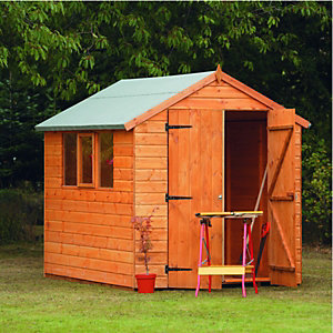 Wickes Heavy Duty Shiplap Apex Shed 8x6