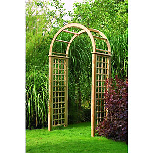 Forest Garden Chopin Arch 0.8x3.01x1.46m Natural