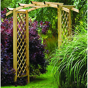Forest Garden Elgar Arch Natural