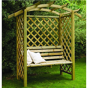 Forest Garden Beethoven Arbour Natural