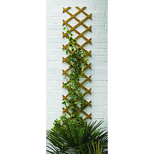 Wickes Expanding Trellis 1830mmx300mm Autumn Gold
