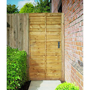 Wickes Wayney Framed Overlap Timber Gate 6ftx3ft