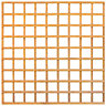 Wickes Fence Panel Trellis Square Lattice 1830mmx1830mm Autumn Gold