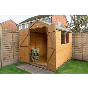 Shiplap Dip Treated Apex Shed 1828mm x 2438mm