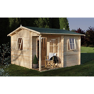 Malvern Log Cabin 3600mm x 3600mm
