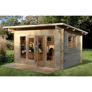 Melbury Log Cabin 4000mm x 3000mm