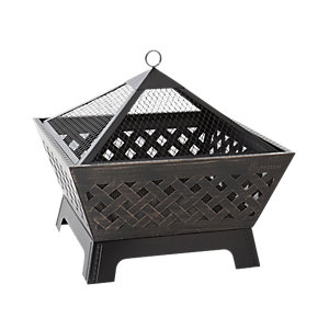 Landmann Barrone Outdoor Firepit Black