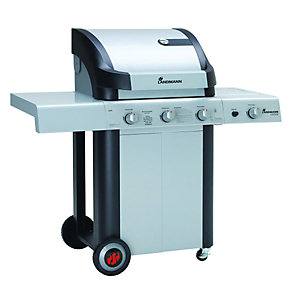 Landmann Cronos 3 Burner And Side Burner Gas BBQ