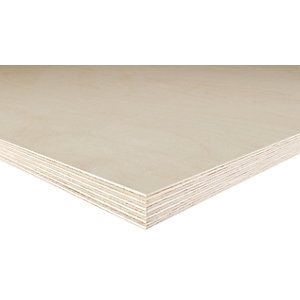 Birch Plywood BB Grade 18mm x 2440mm x 1220mm