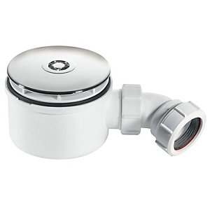 Image of McAlpine 90mm Shower Trap ST90CP10-70