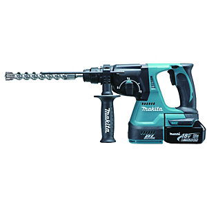 Makita BHR242RFE SD+ Rotary Hammer & 2 Batts 18v