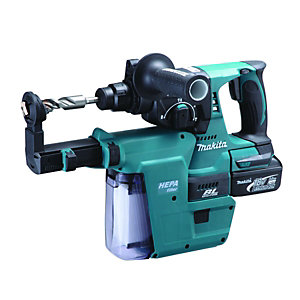 Makita 18V Li-ion SDS+ Rotary Hammer Drill + 2 Batteries DHR242RFEV