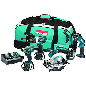 Makita DX4002M 18v LXT 4 Piece Kit