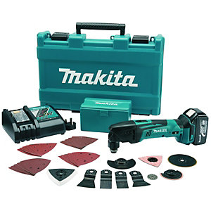 Makita 18V LXT Li-ion Cordless Multi-Tool With 30 Accessories DTM50RM1J3