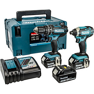 Makita DL x 2020SA Twin Pack 18V